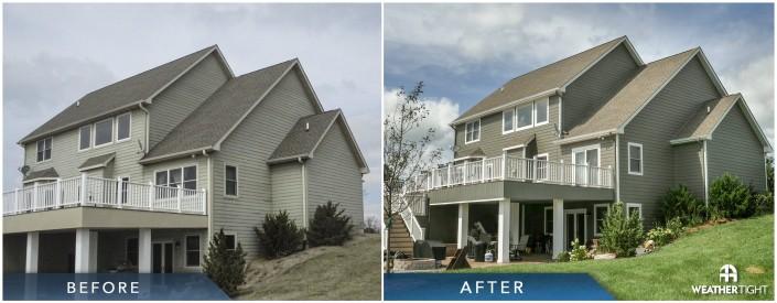 Siding Before & After
