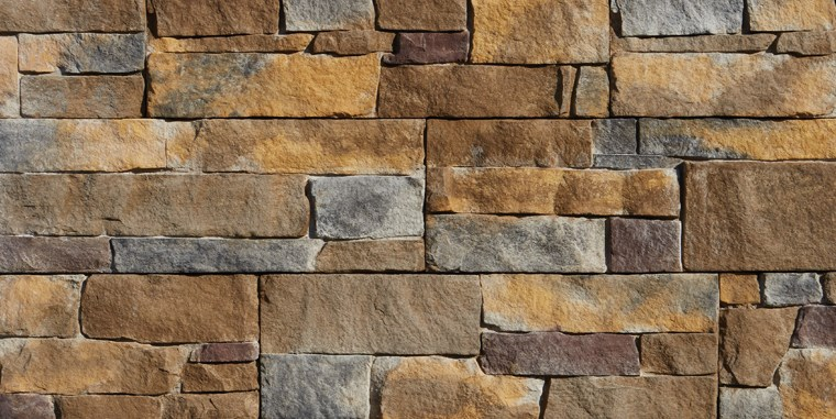 Harbor Sunset Stone Siding Color Option